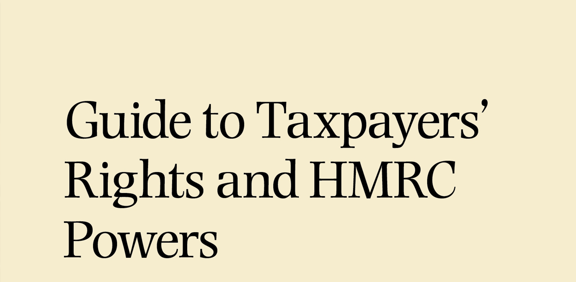 CBW's Robert Maas authors the Taxpayers' Rights book, published by Bloomsbury Professional